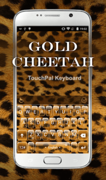 Gold Cheetah Keyboard Theme APK : Download v6 12 22 2018 for Android