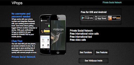VPops - Private Social Network APK : Download v3 7 0 for Android at