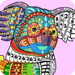 Number Coloring – Coloring book for adults & kids APK icon