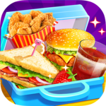 School Lunch Food Maker 2: Free Cooking Games APK icon