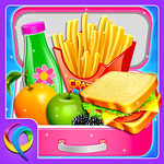 School Lunchbox Food Maker - Cooking Game APK icon