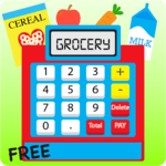 Kids Cash Register Grocery Free APK icon
