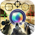 Shooter Photo Maker: Guns & Weapons APK icon