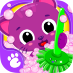 Cute & Tiny House Cleanup - Learn Daily Chores APK icon
