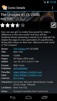 ComicRack Free APK screenshot 3