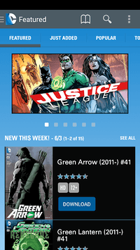 DC Comics APK screenshot 1