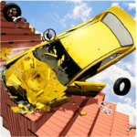 Beamng Drive Death Stair Car Speed Crash APK