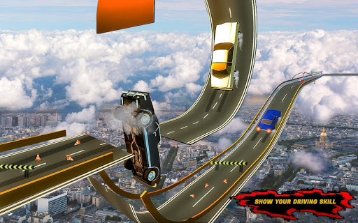 Racing Car Stunts On Impossible Tracks APK screenshot 3