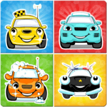 Cars memory game for kids APK icon