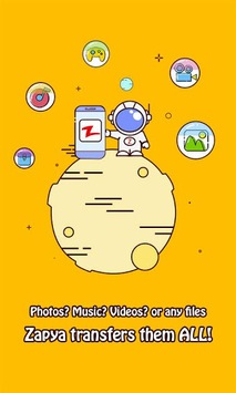 Zapya - File Transfer, Sharing APK screenshot 1