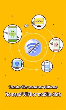 Zapya - File Transfer, Sharing APK screenshot 2