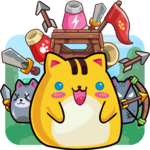Cat'n'Robot: Idle Defense - Cute Castle TD Game APK icon