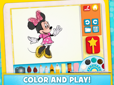Disney Color and Play APK : Download v2 0 0 for Android at