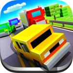 Blocky Highway: Traffic Racing APK