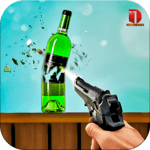 Real Bottle Shooting Free Games APK icon