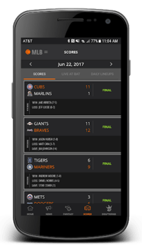 DK Live - Sports Play by Play APK screenshot 3