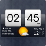 Sense Flip Clock & Weather APK icon