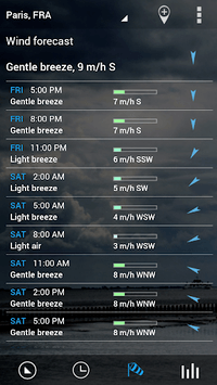 Sense Flip Clock & Weather APK screenshot 2