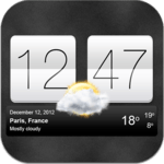 Sense V2 Flip Clock & Weather APK icon