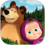 Masha and the Bear. Educational Games APK icon