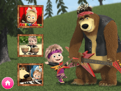 Masha and the Bear. Educational Games APK screenshot 2