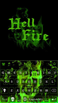 Hell Fire Emoji iKeyboard 💀 APK : Download v1 0 for Android