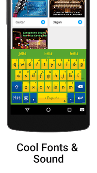 iKeyboard - emoji, emoticons APK screenshot 3