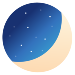 Luna Diary-journal on the moon APK icon