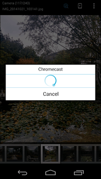 ES Chromecast plugin APK screenshot 2