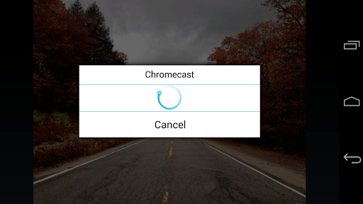 ES Chromecast plugin APK screenshot 3