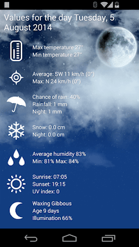 Weather Belgium XL PRO APK : Download v1 4 3 8-be for Android at