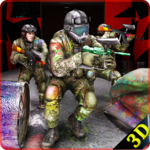 Paintball Arena Shooting: Shooter Survivor Battle APK icon