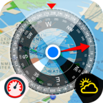All GPS Tools Pro (Compass, Weather, Map Location) APK icon