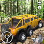 Extreme Offroad Mud Truck Simulator 6x6 Spin Tires APK icon
