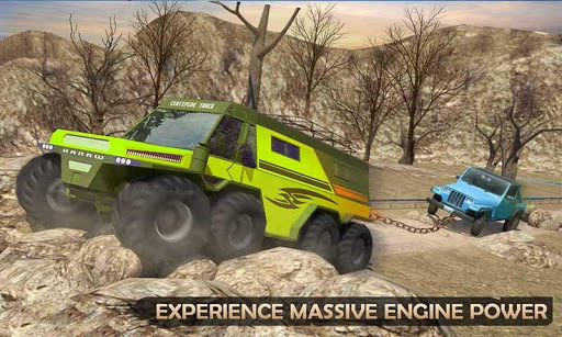 Extreme Offroad Mud Truck Simulator 6x6 Spin Tires APK screenshot 2