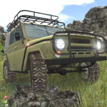 4x4 SUVs in the backwoods APK icon