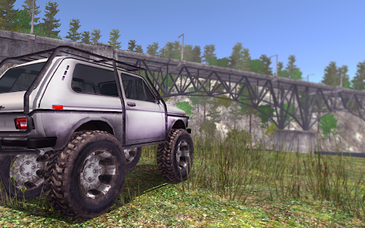4x4 SUVs in the backwoods APK screenshot 2