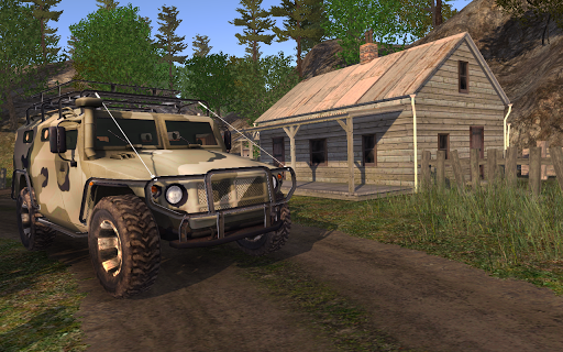 4x4 SUVs in the backwoods APK screenshot 3