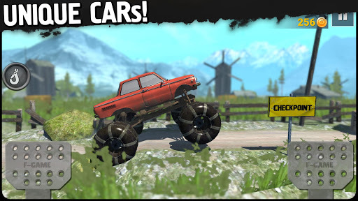 Off-Road Travel: 4wd SUVs ride to hill APK screenshot 1