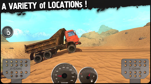Off-Road Travel: 4wd SUVs ride to hill APK screenshot 3