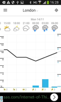 Foreca Weather APK screenshot 3