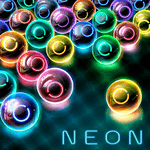 Magnetic balls: glowing neon HD APK icon