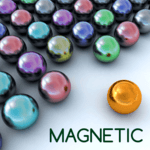 Magnetic balls bubble shoot APK icon