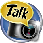 Photo talks: speech bubbles APK icon