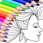 Colorfy: Coloring Book for Adults - Free APK icon