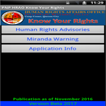 Philippine National Police Know Your Rights APK icon