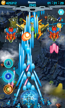 Galaxy Wars - Space Shooter APK screenshot 2