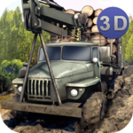 Logging Truck Simulator 3D APK icon