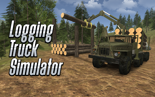 Logging Truck Simulator 3D APK screenshot 1