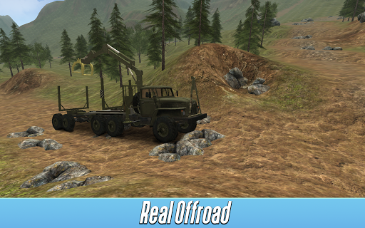 Logging Truck Simulator 3D APK screenshot 2